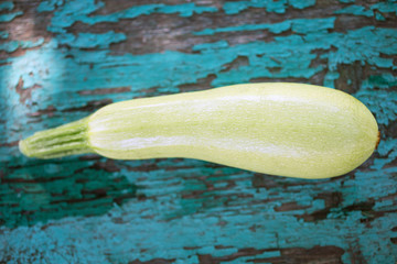 marrow on a wooden background