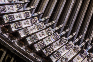 alte Schreibmaschine 4512