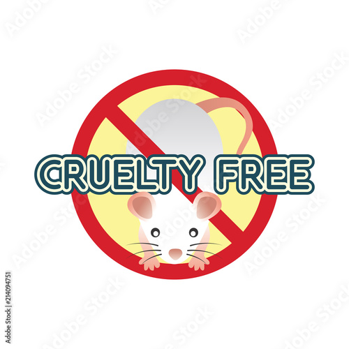 Not Tested On Animals Cruelty Free No Animal Testing Logo For