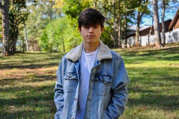 Teenage Male Fall Outdoor Portraits