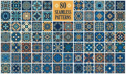 Obraz Arabic decorative tiles - fototapety do salonu