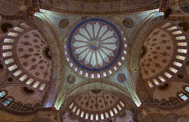 Istanbu , Blue Mosque, Sultan Ahmed Mosque...