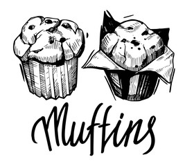 Sketch of muffin