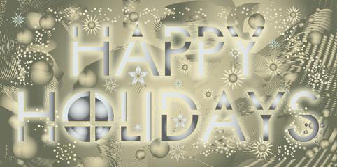 Joyeuses fêtes en anglais