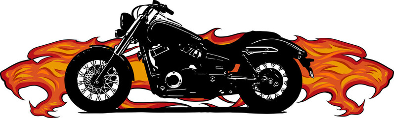 motocicletta custom