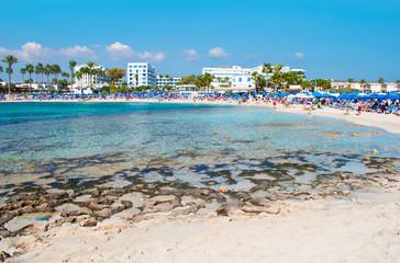 Image of breathtaking Vathia Gonia beach near Agia Napa
