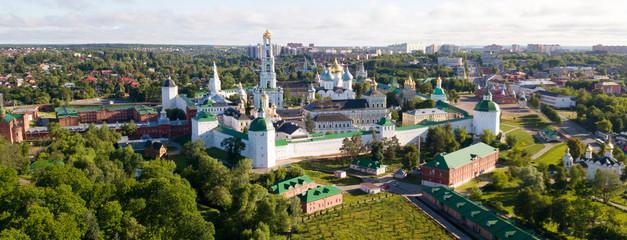 Panorama of Trinity Lavra of St. Sergius, Sergiev Posad