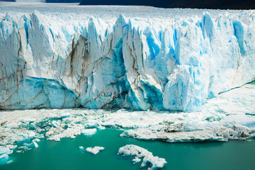 Printed kitchen splashbacks Glaciers Glacier Perito Moreno, southeast of Argentina