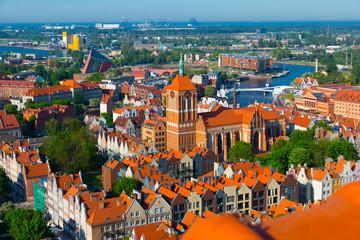 Obraz Krajobraz Gdańska - fototapety do salonu