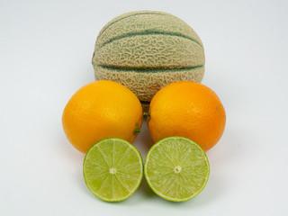 Isolated Fruits