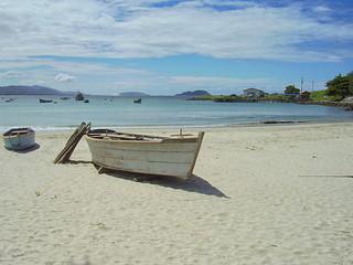 A beach in Florianopolis Santa Catarina Brasil