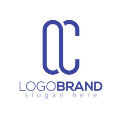 o C Letter initial Logo vector element. initial Logo Template