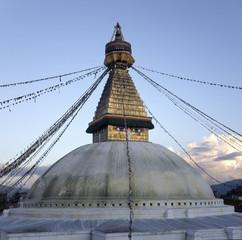Boudhanath Stupa, Boudha, Kathmandu, Nepal.
