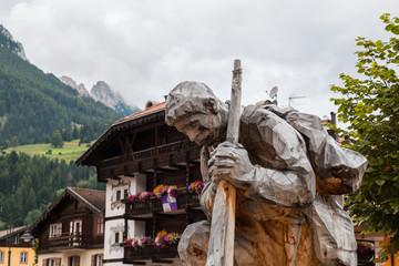 Scorci di Moena, Val di Fassa, Trento, Trentino Alto Adige, Italia