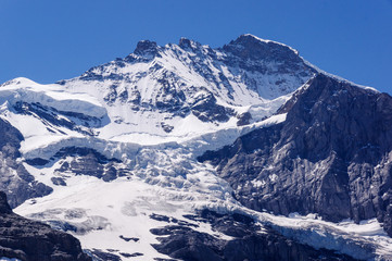 Jungfrau and Glacier