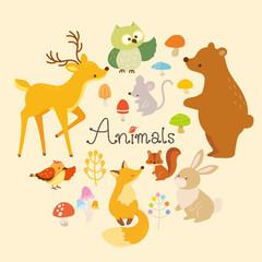 動物イラストセット(1)