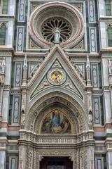 Cathedral of Santa Maria del Fiore and Baptistery of St. John.Battistero di San Giovanni