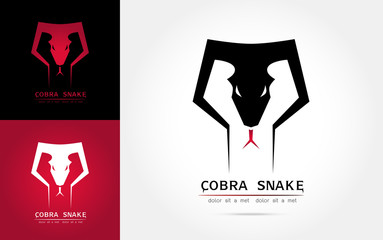 Cobra snake logo  template Vector illustration