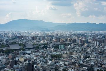 Skyline Kyoto Japan