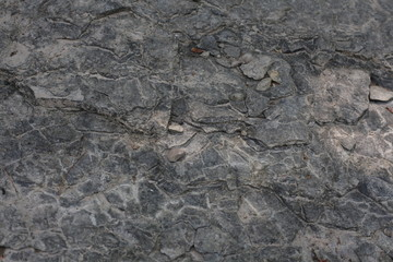 Cracked Rock-River
