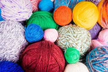 yarn ball. ball of yarn for knitting