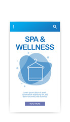 SPA AND WELLNESS INFOGRAPHIC