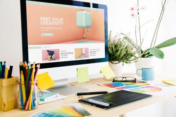 Graphic design studio creativity tutorials website