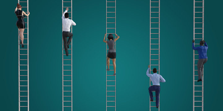 Climbing The Corporate Ladder stock photos and royalty-free images, vectors  and illustrations   Adobe Stock