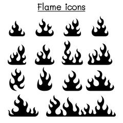 Fire & Flame icon set