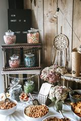 Candy Bar on a Wedding