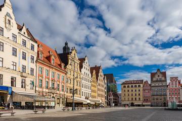 Breslau – Westseite des Breslauer Rings (Rynek)