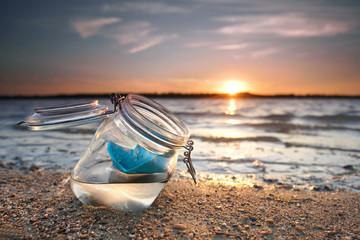 Urlaubsgrüße vom Meer