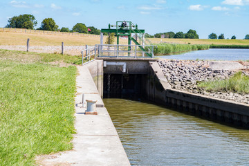 small canal lock