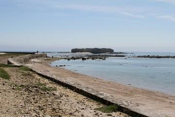 L'île de Tatihou et les fortifications de Vauban dans le cotentin,Manche,Normandie,