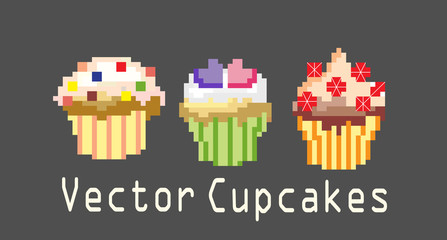 sets of cupcakes for decoration