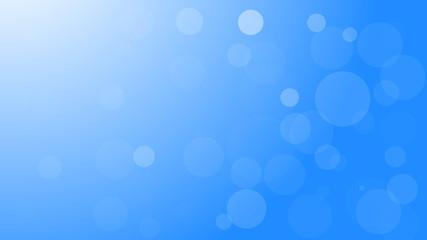 Vector abstract blue bokeh light background