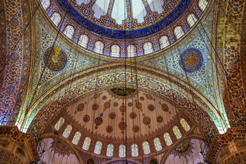 Istanbul - Blue Mosque, Sultan Ahmed Mosque.