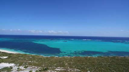 Series of aerial pictures from Turks and Caicos Islands