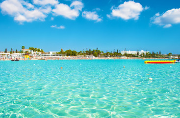 Image of breathtaking Nissi beach near Agia Napa
