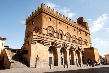 Palazzo del popolo, Orvieto, Umbrien, Umbria, Italien, Italia