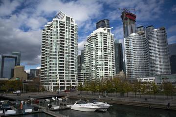 Toronto cityscape view