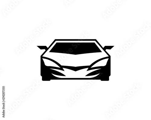 Car silhouette vector, Sport Car silhouette vector