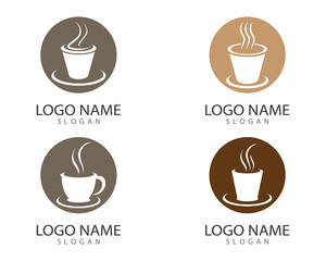 Coffee cup vector icon