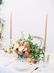 Romantic Bridal Shower Tabletop