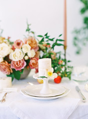 Romantic Bridal Shower Tabletop