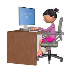 プログラミング教育(女の子)