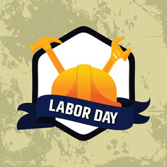 Happy Labor Day Celebration BackgroundHappy Labor Day Celebration Background