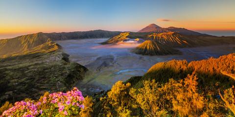 Sunrise of Mount Bromo at East Java Indonesia