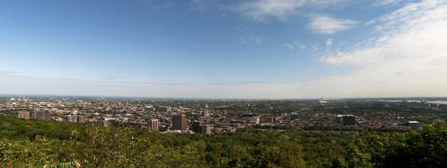 Panoramablick über Montreal vom Mont Royal Park aus, Montréal, Provinz Québec, Kanada, Nordamerika