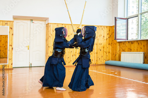Japanese martial art of sword fighting